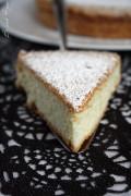 gâteau à la vanille comme un nuage a