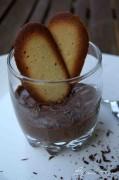 mousse au chocolat et gingembre 2