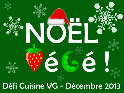 """Résultats défi """"Un Noël Végé"""""""