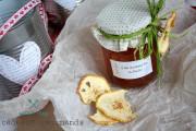 gelée de pommes bio au basilic a