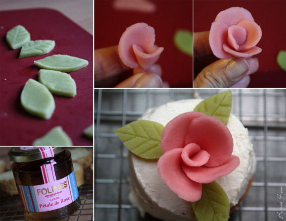 mini cake design à la rose c