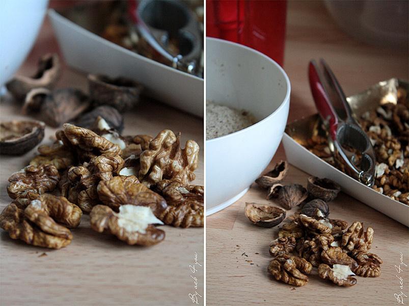 Dacquoise aux noix