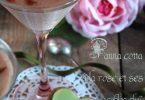 Panna cotta rose
