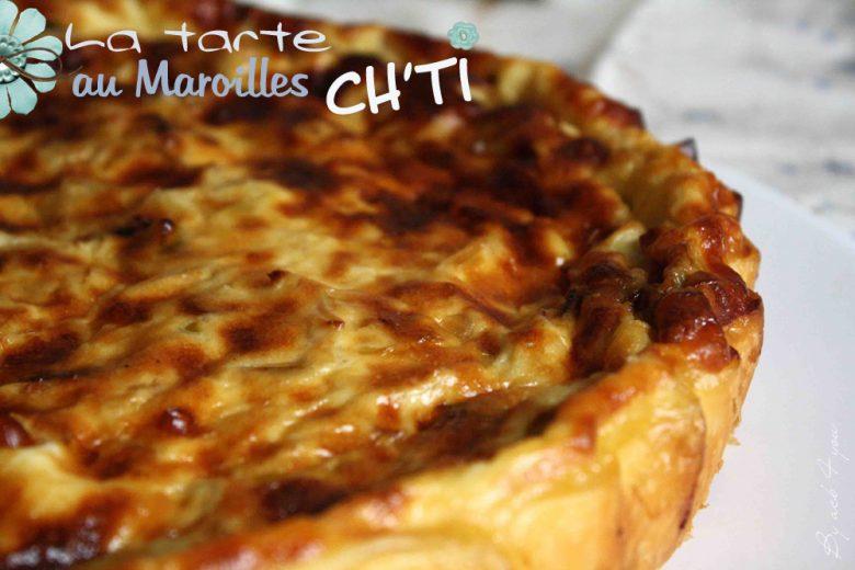 Tarte ch'ti au Maroilles