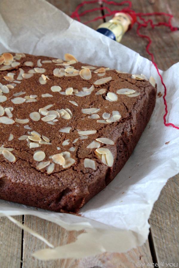 Gâteau chocolat et amande