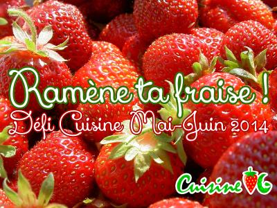 Sorbet pur fraise