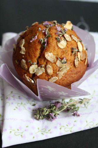 muffin miel fleur de thym f