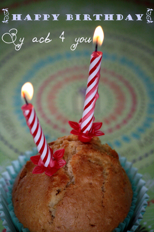 Muffins coco, flocons d'avoine & rhum raisin {happy birthday mon petit blog}