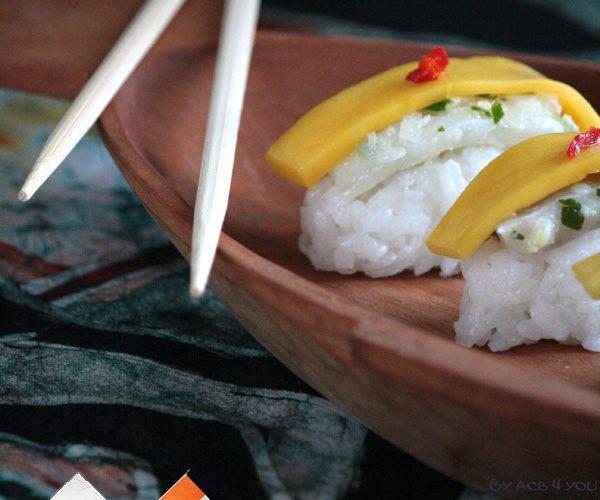 Sushi au poisson non braisé : Cuisine du monde quand le Japon rencontre la Côte d'Ivoire