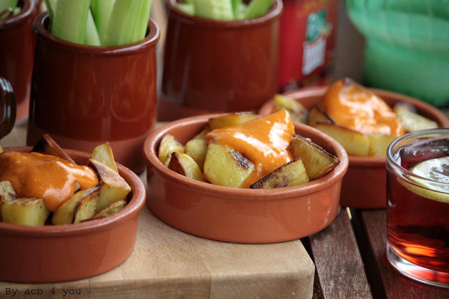 Patatas bravas pour les tapas de la Battle food # 21