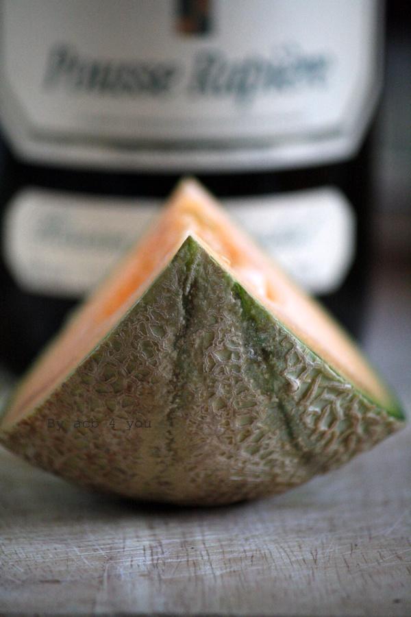 Sorbet au melon et au Pousse-Rapière