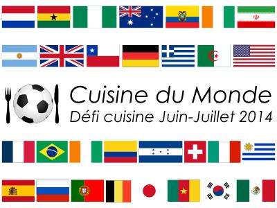 Défi Cuisine du Monde 2014 : Les résultats