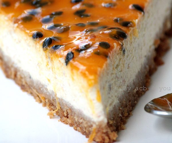 Cheesecake passionnément banane