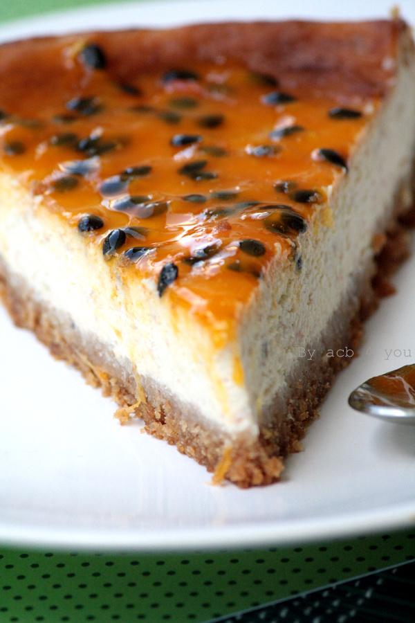 Cheesecake passionnément banane!