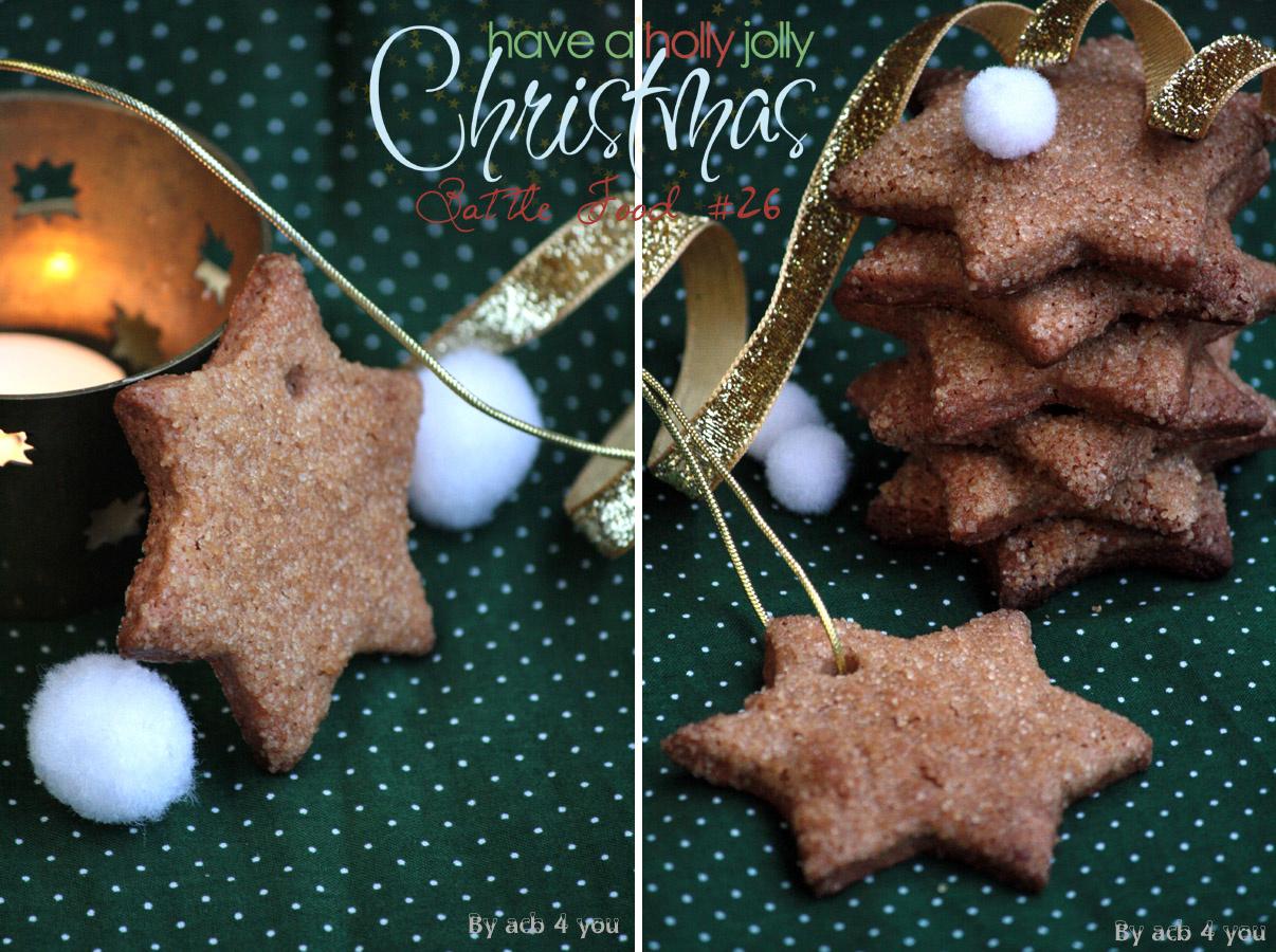 Etoiles au sucre pour la Battle Food de Noël