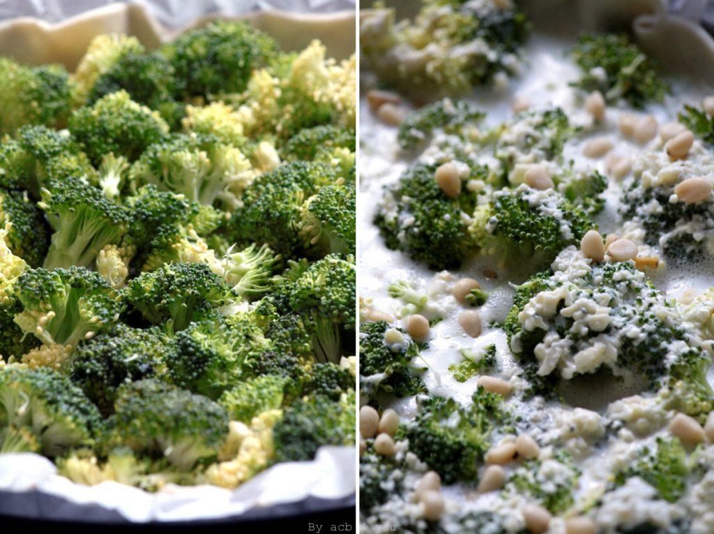 brocoli pour une quiche