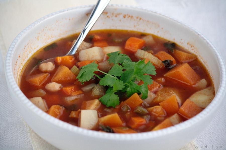 Chorba marocaine végétarienne