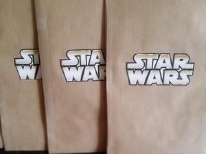 Pochettes à bonbon anniversaire thème Star Wars