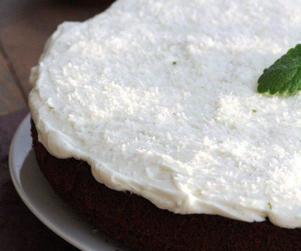 Gâteau Coco & Combava {Battle food #19}