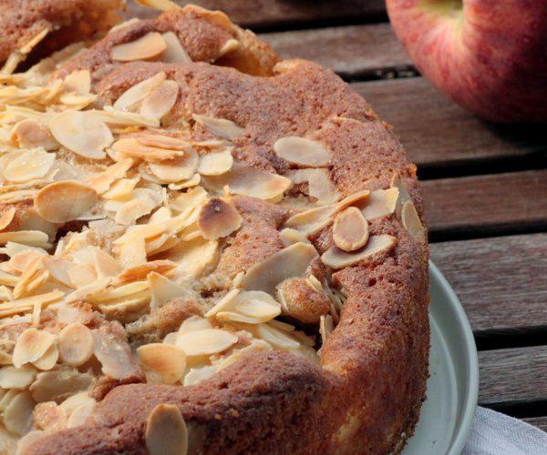Gâteau aux pommes et quatre épices