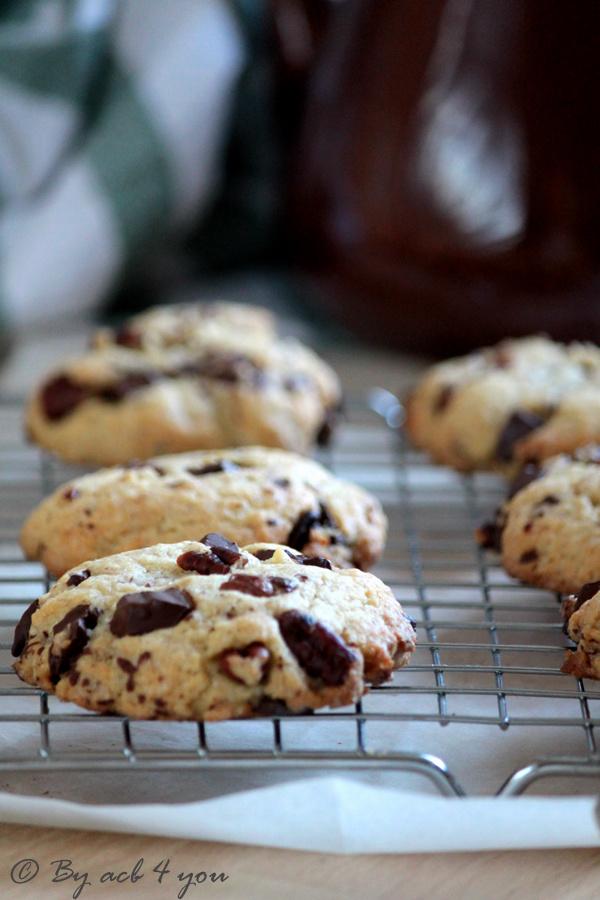Cookies aux noix de pécan et chocolat noir