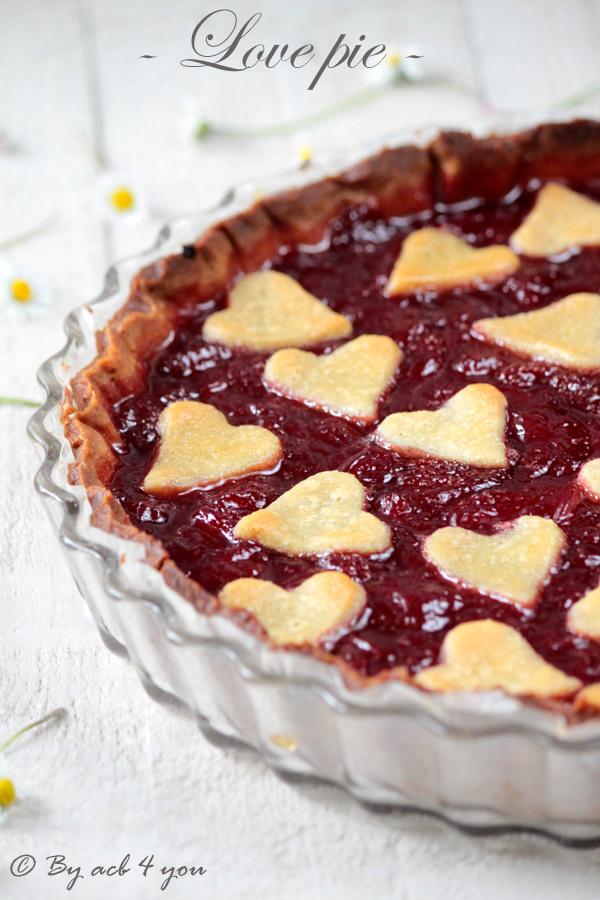 Love pie ou la tarte aux fraises pour la fête des mères