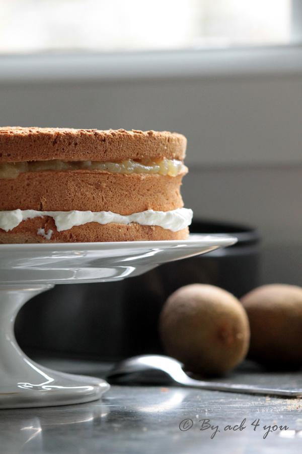 Angel cake exotique ou le gâteau papa chéri