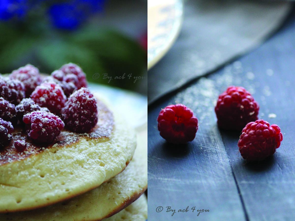 Pancakes bien gonflés pour le brunch {Bataille food #25}