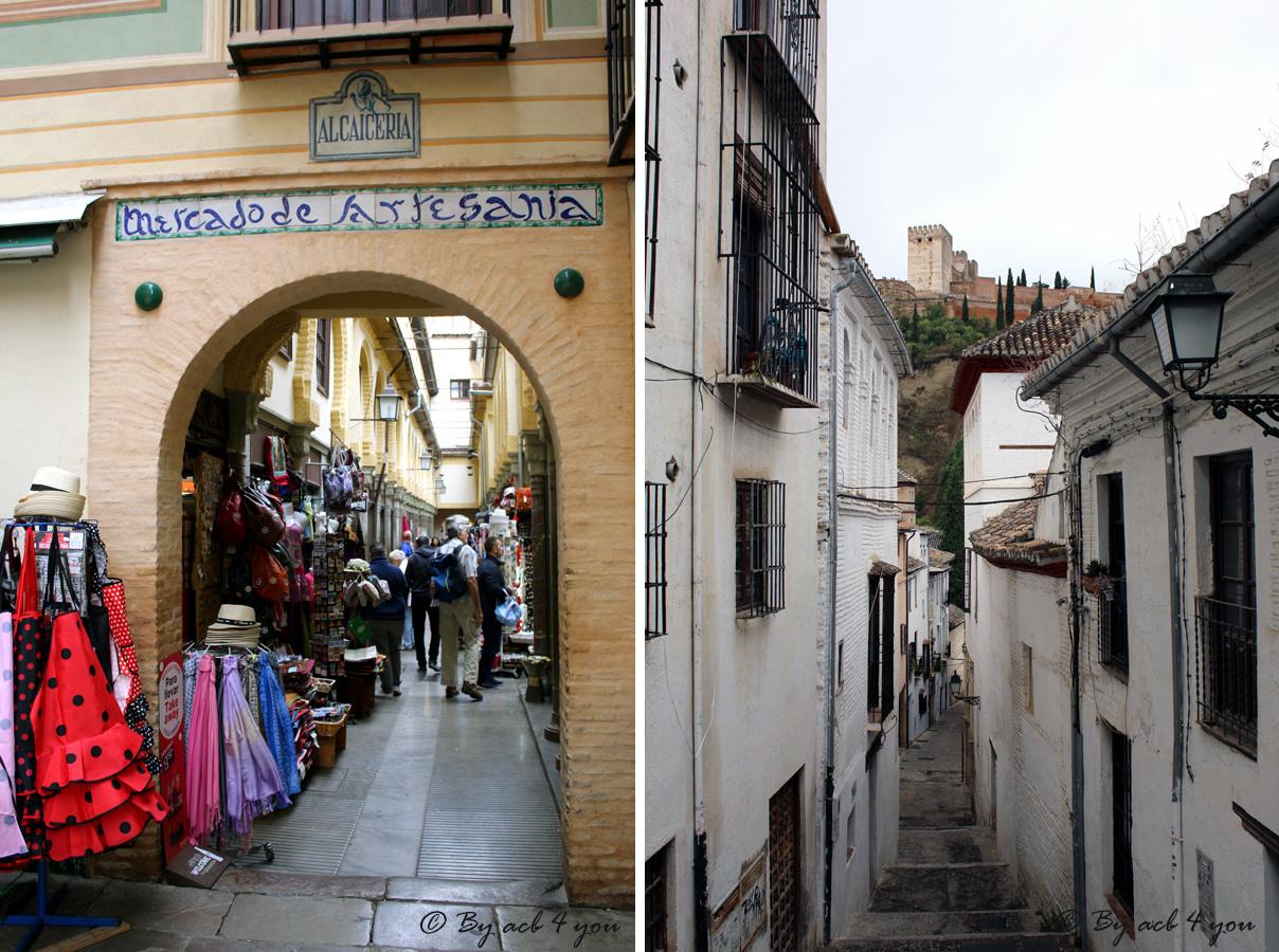 Week-end en Andalousie, 3ème partie : Grenade et Malaga