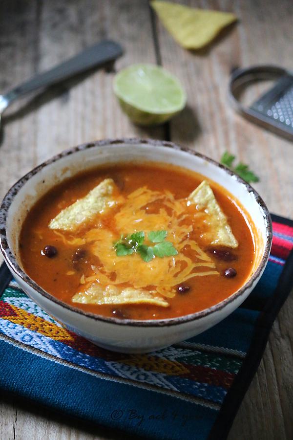 Soupe Tex Mex
