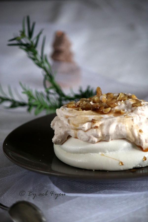 Pavlova aux châtaignes, un habit blanc pour un hiver gourmand!