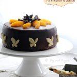 gâteau orange et chocolat