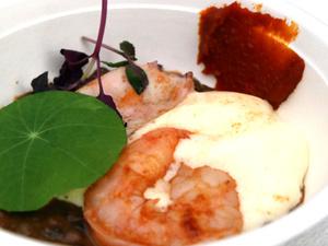 Cliquez sur les photos pour les agrandir et saliver devant les plats des chefs !