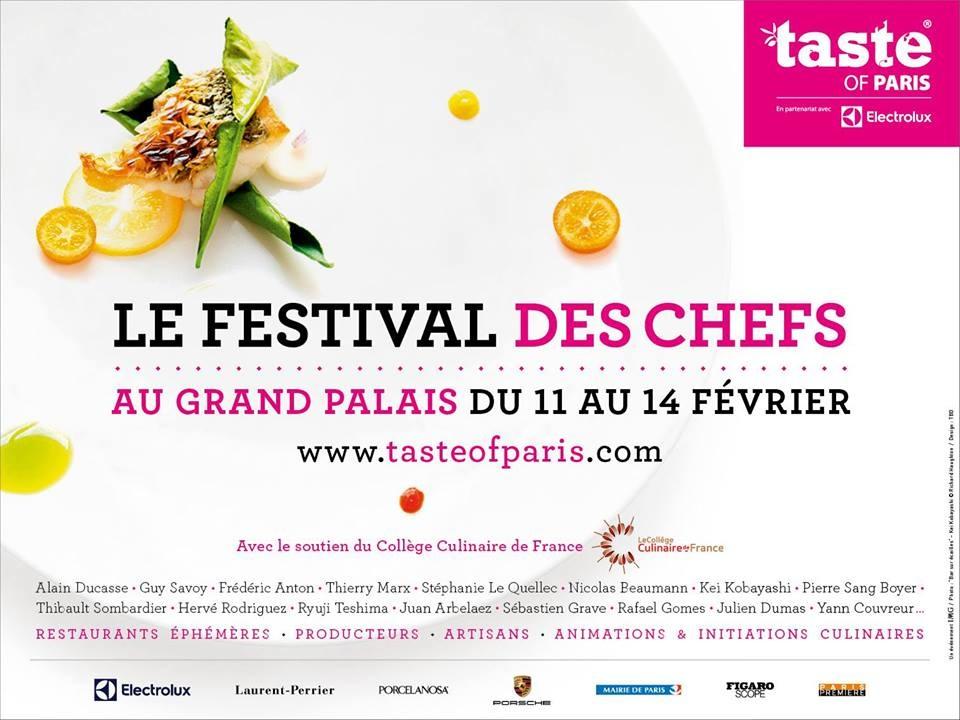 Taste of Paris 2016, 4 pass premium à gagner avec la Maison Maille