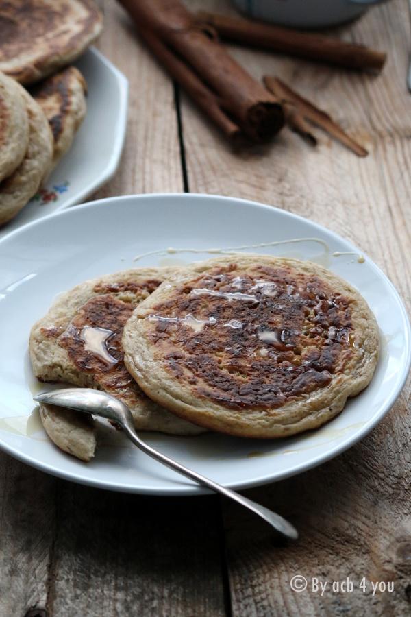 Pancakes au levain et à la cannelle