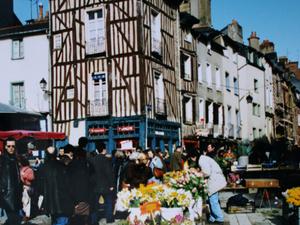 J'ai même retrouvé mes photos de Rennes - février 1995