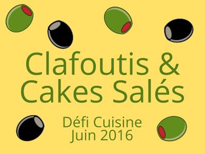 Cake au Cantal, petits pois et jambon