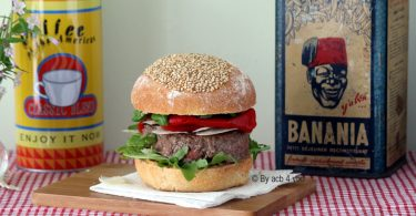 Burger basque
