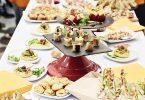 Croque-monsieur Italien et petite salade fraîcheur de melon et fraise au jambon cru