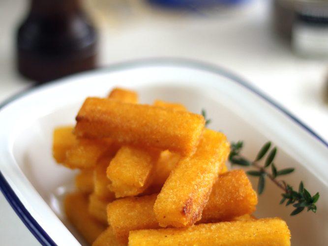 Frites de polenta {concours inside}