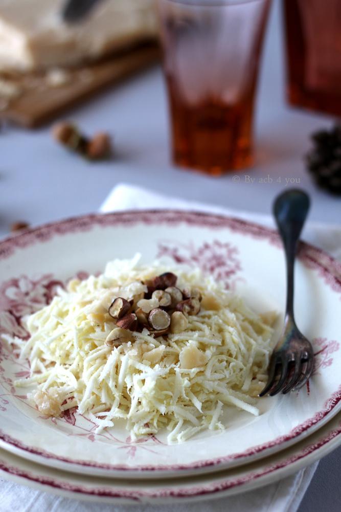Salade de panais râpés aux noisettes