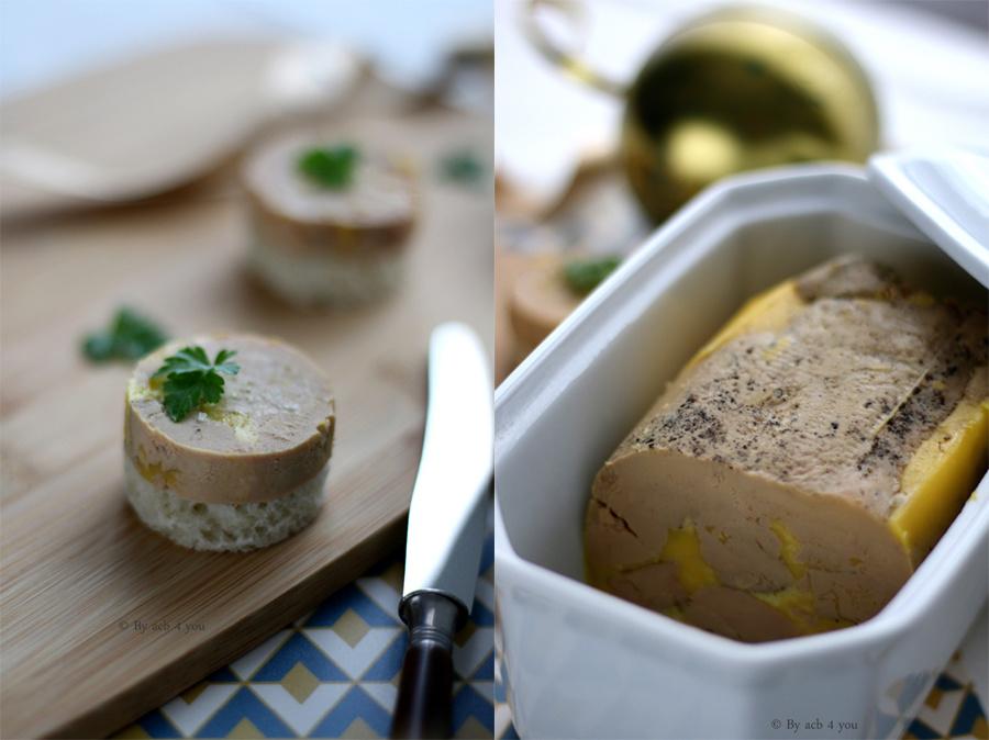 Foie gras cuit sous-vide à basse température