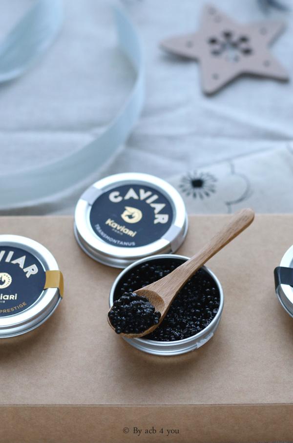 Carpaccio de Saint-Jacques et caviar {Concours}