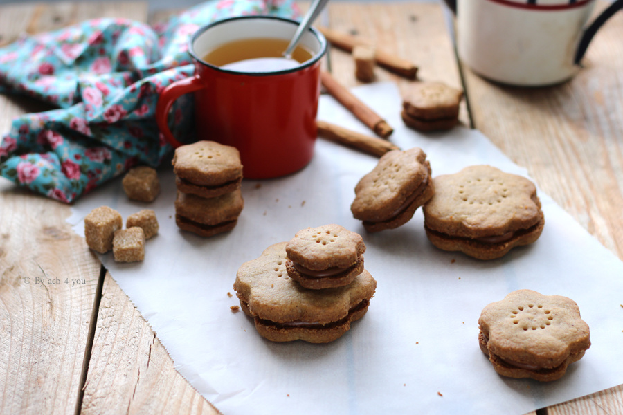 Shortbread cannelle et chocolat
