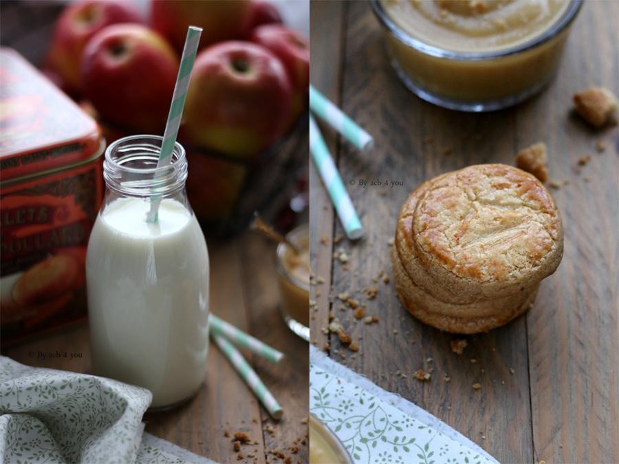 Compote de pomme et caramel
