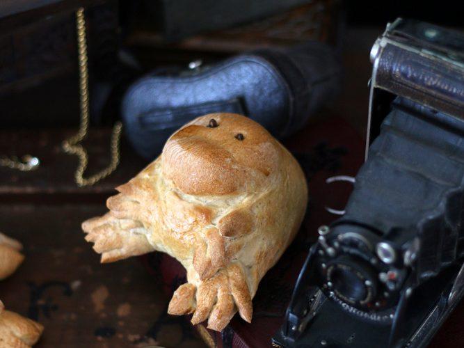 Patsou le niffleur gourmand ou Pain brioché à la cannelle comme dans la boulangerie de Jacob Kowalski {les animaux fantastiques}
