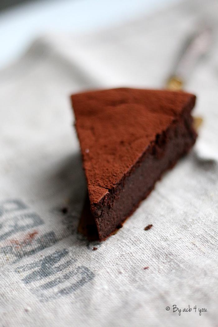 "Fondant au chocolat ""sage"""