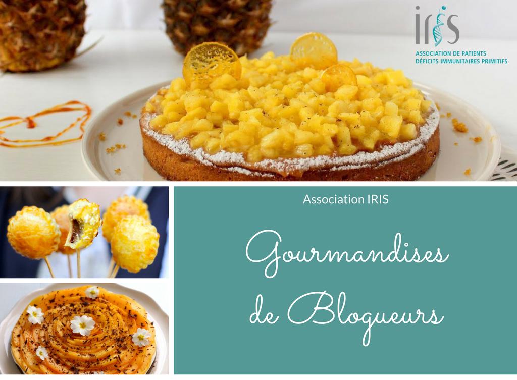 Gourmandises de Blogueurs pour l'association IRIS