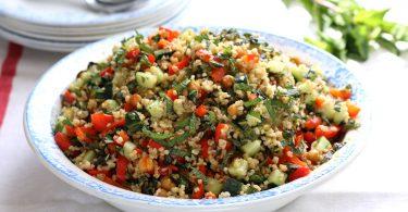 Taboulé aux légumes grillés dans mon panier Illico Fresco