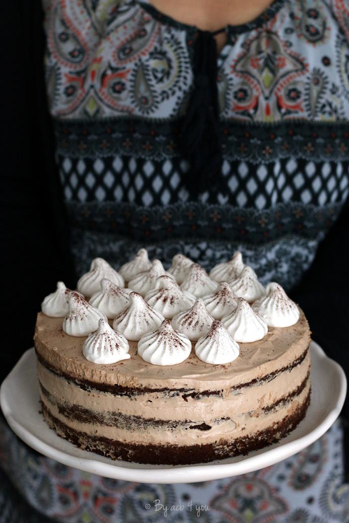 Layer cake au café